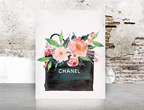 (Glam Decor Wall Art Designer Gift Bag Print Poster)