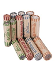 Royal Sovereign Assorted Coin Preformed Wrappers, 216 Count (...
