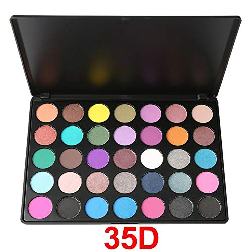 35 Colors Eyeshadow Pallete Glitter Makeup Matte Eye Shadow Long-Lasting Make Up Palette Maquillage Paleta Eyeshadow 35D
