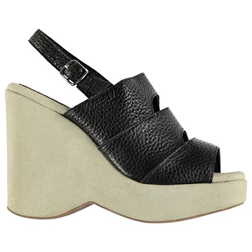 Jeffrey Campbell Pomona Wedge Chaussures Femme Chaussures Noires