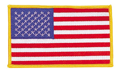 Embroidered American Flag Patch USA United States of America