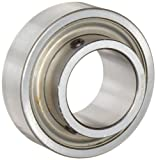 Browning SLS-110 Wide Inner Ring Bearing, Setscrew Lock, Double Sealed, Normal Clearance, Steel Cage, 5/8'' Bore, 40 mm OD, 15/16'' Width