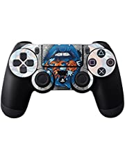 MightySkins Skin Compatible with Sony PS4 Controller - Blue Lips | Protective, Durable, and Unique Vinyl Decal wrap Cover | Easy to Apply, Remove, and Change Styles | Made in The USA