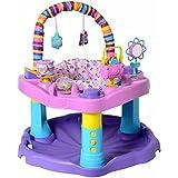 Evenflo ExerSaucer Playstation Activity Baby Walker, Sweet Tea Party