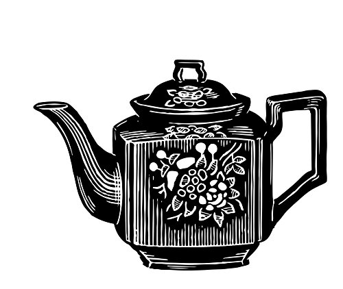 LAMINATED POSTER Teapot Clipart Illustration Illustrations Poster Print 24x 36
