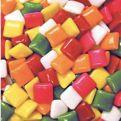 8 Pound Dubble Bubble Tab Chewing Gum Original Assortment