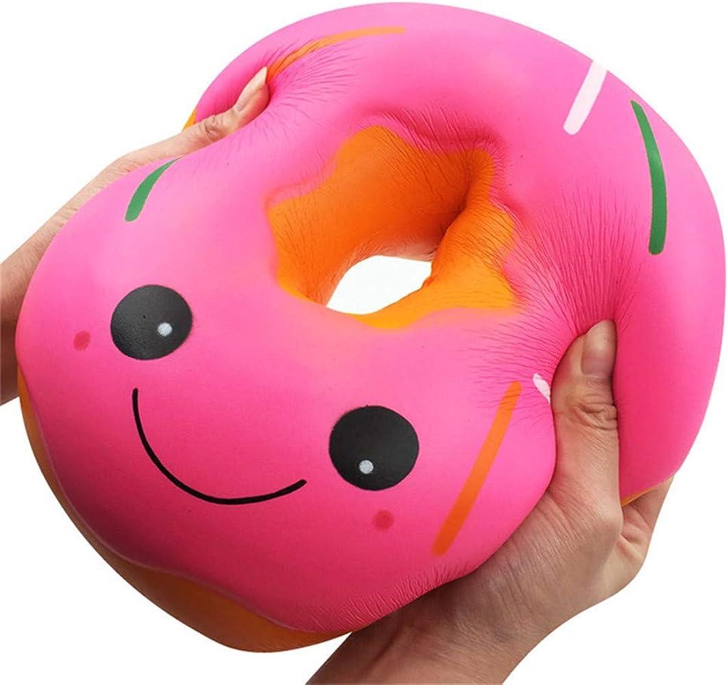 Fossrn Squishies Jumbo gigante Donut lento aumento Fruta Regalo perfumado de juguete para aliviar el estrés: Amazon.es: Ropa y accesorios