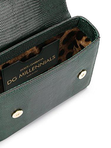 Dolce E Gabbana Borsa A Spalla Donna BB6391A109587685 Pelle Verde