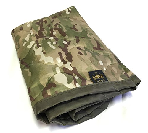 HighSpeedDaddy HSD Mini Woobie Military Style Poncho Liner Kids Baby Blanket (Multicam, -