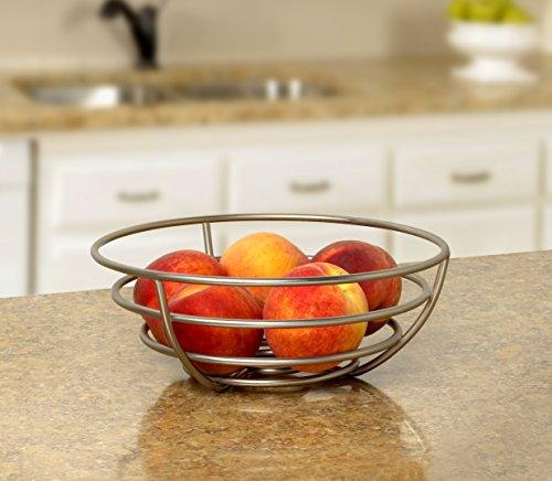 Spectrum Diversified Euro Fruit Bowl, Satin Nickel