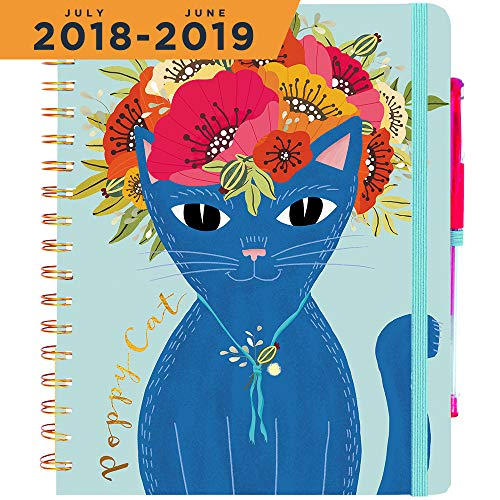 2018-2019 Academic Planner (Dated July 18'-Jun 19') ~ Finish Your 2019 Academic Year Strong ~ Boost Productivity, Achieve Big Goals and Develop Good Morning Habits ~ Daily, Weekly, Monthly Calendar