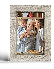 Rustic Picture Frames Solid Wood Farmhouse Picture Frame