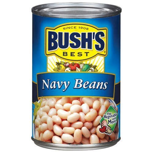 (Bush's Best, Navy Beans, 16oz Can (Pack of 6))
