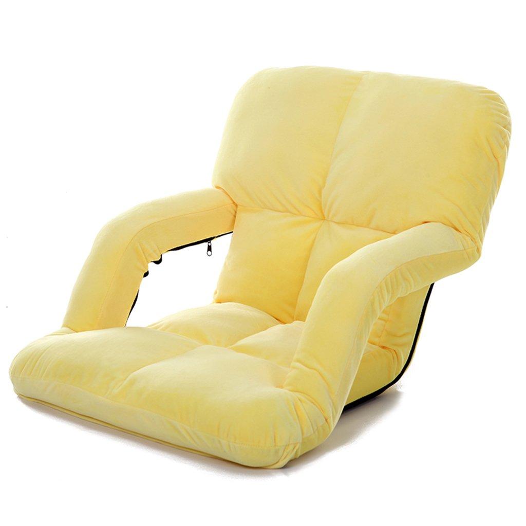 JH Klappstuhl Recliner Tatami Waschen Stillen Stuhl Stillkissen Newborn Stuhl Horizontal Anti-Tumping Stuhl mit Sessel, Kann 150 kg Oder Mehr Laden