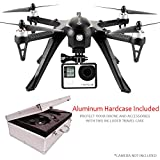 Contixo F17 RC Quadcopter Racing Drone 2.4Ghz 6-Axis Gyro 4 Channels, GoPro Compatible, Brushless Motors, 18 min Flight Time, 2100Mah Battery, Hardcase Included (F17)