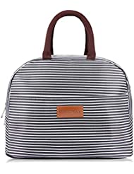 6e35b5a74745 BALORAY Lunch Bag Tote Bag Lunch Organizer Lunch Holder Insulated Lunch  Cooler Bag for Women