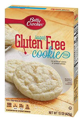 Betty Crocker Gluten Free Cookie Mix Sugar 15.0 oz Box