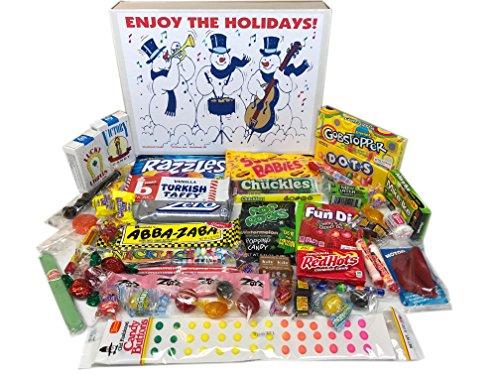 Woodstock Candy ~ Christmas Holiday Snowman Nostalgic Retro Candy Gift Box Variety Assortment