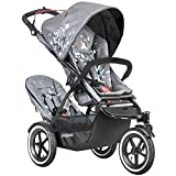 Phil Teds Sport Graffiti V5_79 Baby Infant Stroller with Doubles Seat Kit