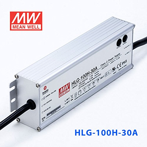 Meanwell HLG-100H-30A Power Supply - 100W 30V 3.2A - IP65 - Adjustable Output