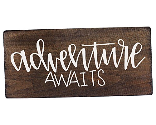 Adventure Awaits Wedding Sign