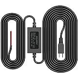 PRUVEOO Hard Wire Kit for Dash Cam, Mini USB Port, 12V to 5V, DC 12V - 24V