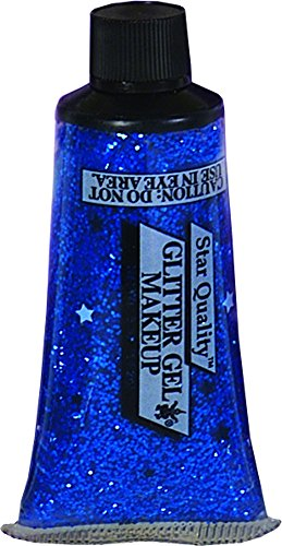 - Rubie's Costume Co. 1045 Blue Glitter Gel Makeup, 0.25 oz, Multicolor (Pack of 12)