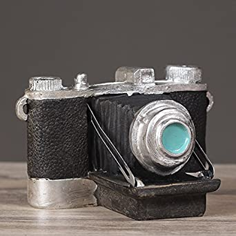 Amazon.com: Faraway Vintage Shabby Chic Camera Resin Crafts Old ...
