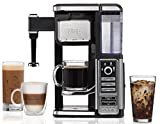 Ninja Single-Serve, Pod-Free Coffee Maker Bar with Hot and Iced Coffee, Auto-iQ, Built-In Milk Frother, 5 Brew Styles, and Water Reservoir (CF112) (Certified Refurbished)