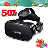 Canbor VR Headset, VR Goggles Virtual Reality Headset 3D...