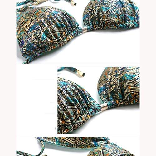 Sports De Plein Épaule Bretelles Bain Sexy Bikini Yongmei Triangulaire Coupe Mme Maillot Halted Une Air qfwFvF75