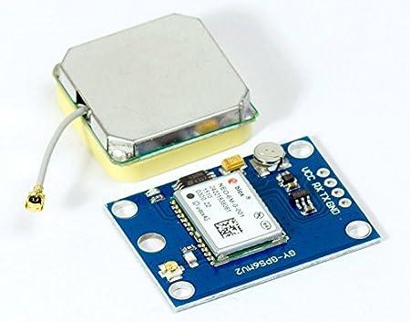 Neo–6m GPS módulo GY de gps6mv2para Arduino Raspberry Pi MultiWii APM naze32flip32
