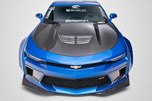 Carbon Creations ED-PUZ-149 DriTech Grid Hood - 1 Piece Body Kit - Compatible For Chevrolet Camaro 2016-2018