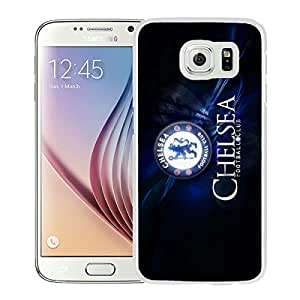 Popular Custom Designed Cover Case For Samsung Galaxy S6 With Chelsea White Phone Case 5