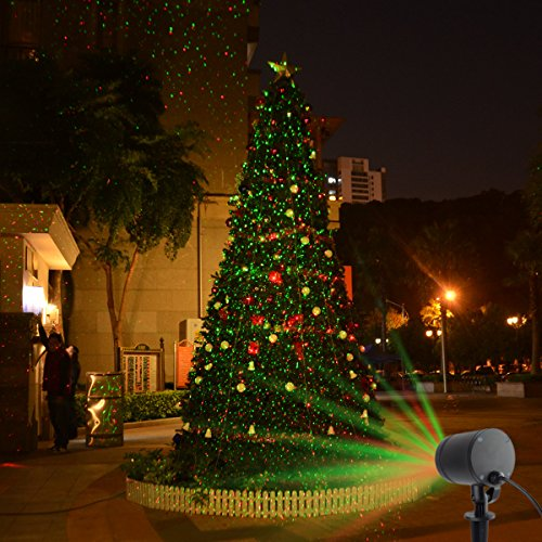 amazoncom starry laser lights landscape projector lights outdoor waterproof laser lamp for outdoor gardenyardwall family gathering party ktv wedding - Laser Lights Christmas Decorations