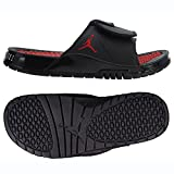 NIKE Air Jordan Hydro XI 11 Bred AA1336-001 Black/University Red Men's Slides (9)