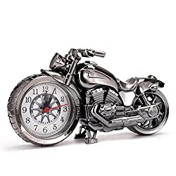 Motorcycle Alarm Clock Shape Creative Retro Gifts Upscale Furnishings Boutique Home