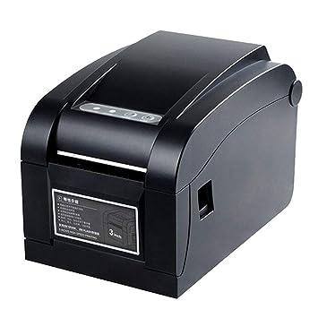 DJG Impresora térmica de Recibos, Puerto USB de la Impresora ...