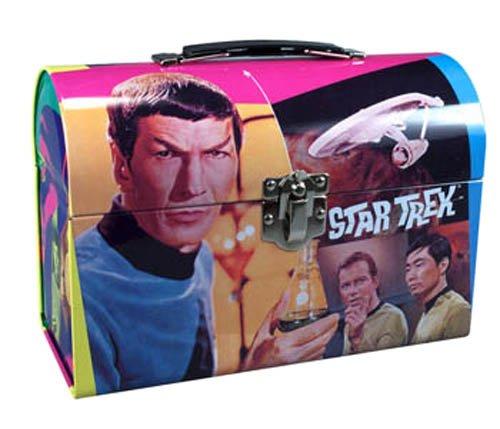Star Trek Lunch - AMT Star Trek Mr. Spock Model Kit Lunch Box Tin