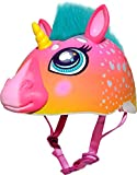 Raskullz Super Rainbow Corn Hair Helmet, Dark Pink