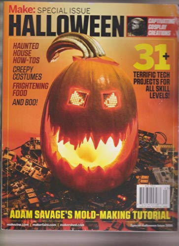 MAKE MAGAZINE SPECIAL ISSUE HALLOWEEN 2016.