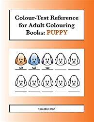 Colour-Test Reference for Adult Colouring Books: PUPPY