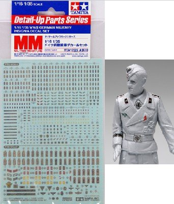1/16-1/35 WWII German Military Insignia Decal Set for sale  Delivered anywhere in USA