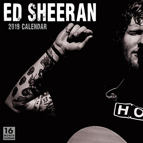 Pdf Photography Ed Sheeran 2019 Wall Calendar