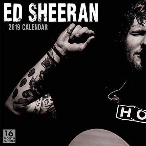 Ed Sheeran 2019 Wall Calendar