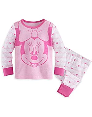 Minnie Mouse PJ PALS Pajamas for Baby Pink