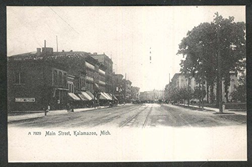Oak Range - Round Oak Stoves & Ranges Main Street Kalamazoo MI undivided back postcard 1900s