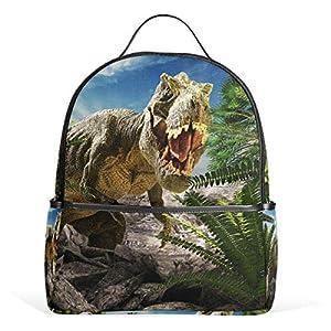 Dinosauro 3D Tyrannosaurus Rex zaino per donne adolescenti ragazze borsa borsa alla moda borsa per bambini viaggio… 6 spesavip
