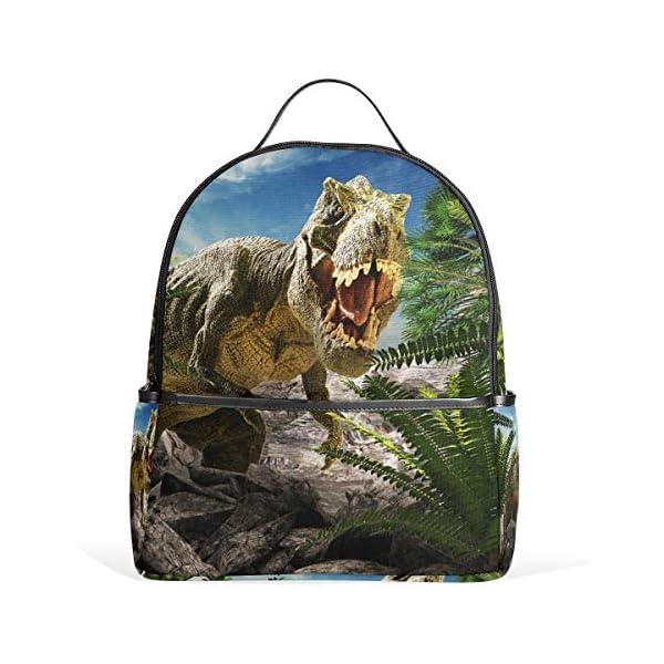 Dinosauro 3D Tyrannosaurus Rex zaino per donne adolescenti ragazze borsa borsa alla moda borsa per bambini viaggio… 1 spesavip