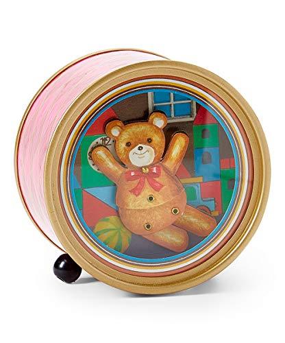 Dancing Animated Bear Music Box playing Toyland